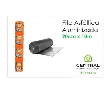 Fotos para FITA ALUMINIZADA ASFÁLTICA 90cm x 10 metros em BH 31 3412.54