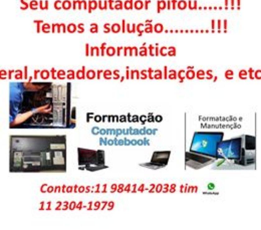 Serviços de Informática Sao Paulo SP Jaçanã - Fotos para AssistÊncia Técnica em informática geral - 24 horas no ar