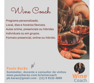 Fotos para Aulas particulares sobre vinhos (Wine Coach)
