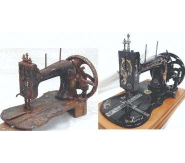 Fotos para Restauração de Maquina de Costura antigas