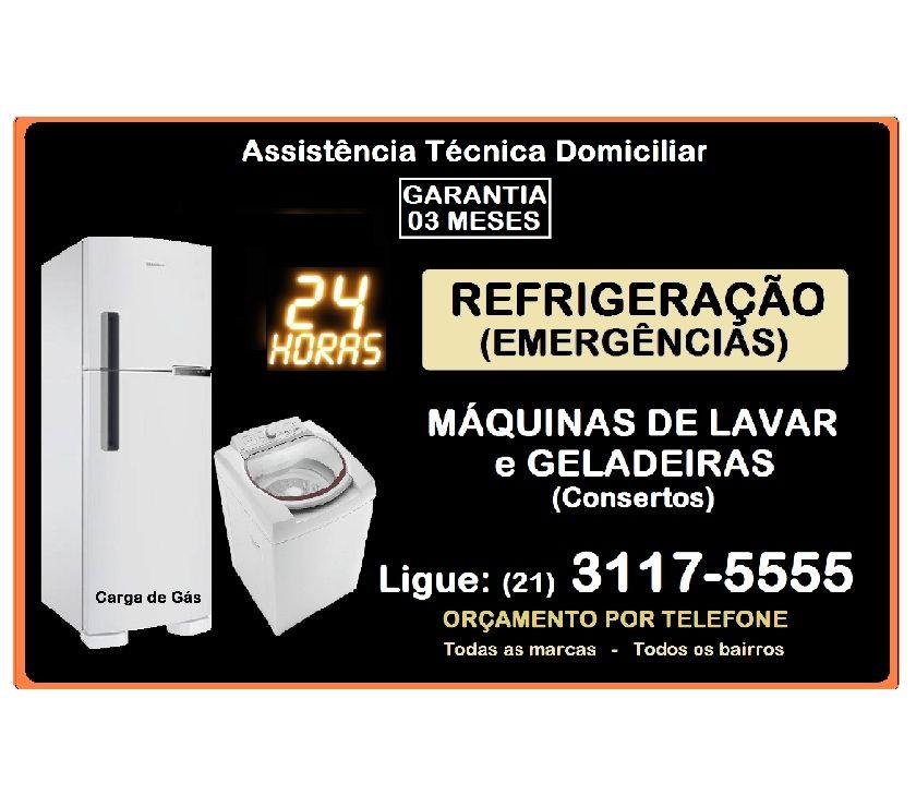 Fotos para Consertos 24h Geladeiras e Máquinas Lavar na ILHA GOVERNADOR