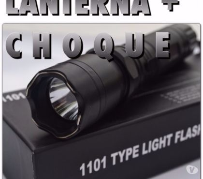 Fotos para Lanterna Type 1101 Light Flashlight Com Choque