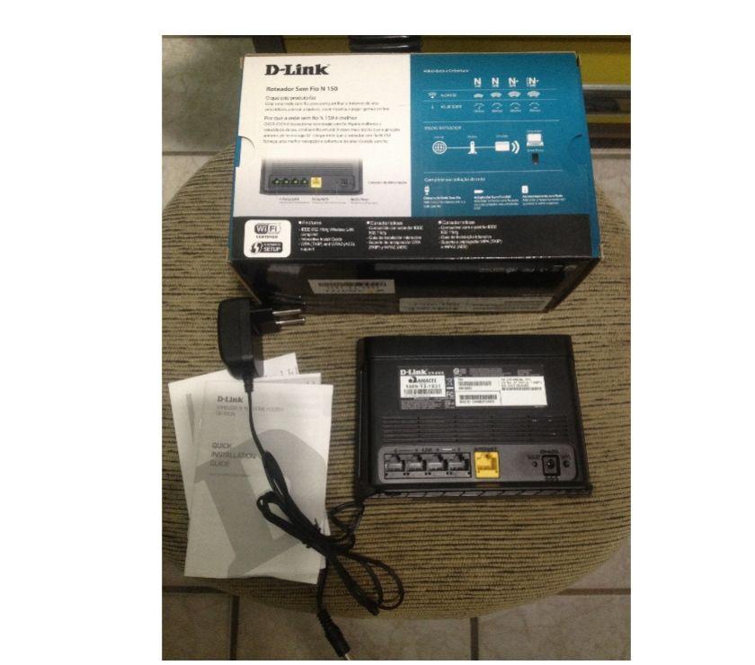 Fotos para Roteador D-Link,Semi,Novo,Com Caixa e Manual!