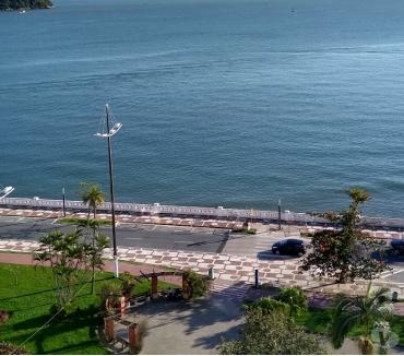 Fotos para Apartamento frente ao mar ponta da praia Santos, reformado