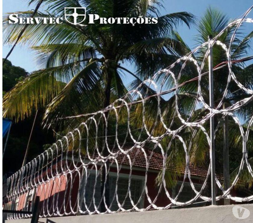Fotos para Instalação de cercas de Proteção - Cercas perfurantes - RJ