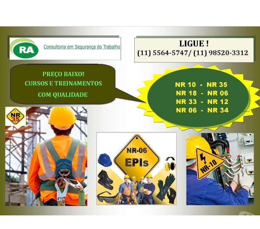 Outros cursos Sao Paulo SP Capela do Socorro - Fotos para Presencial Cursos NR-10, NR-33 Santo Amaro Zona Sul SP