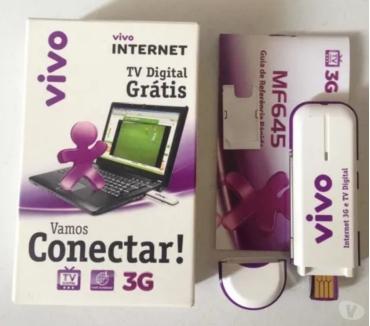 Fotos para Modem Vivo 3G com TV Digital - Pega Chip - desbloqueado