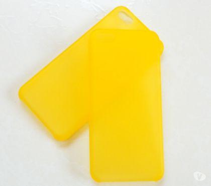 Fotos para Capa Case em SiliconeTPU Amarelo Iphone 6 (4.7)