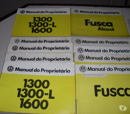 Fotos para Manual Proprietario Vw Fusca Varios Anos e Modelos Orig