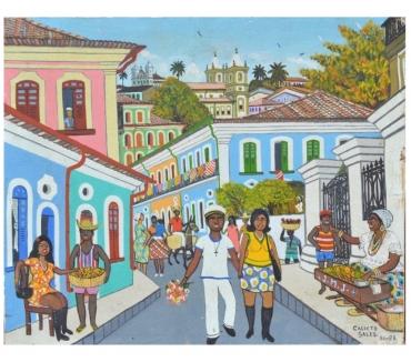 Fotos para Calixto Sales , Bahia,Acrílico sobre tela,38x47 cm, sem mold