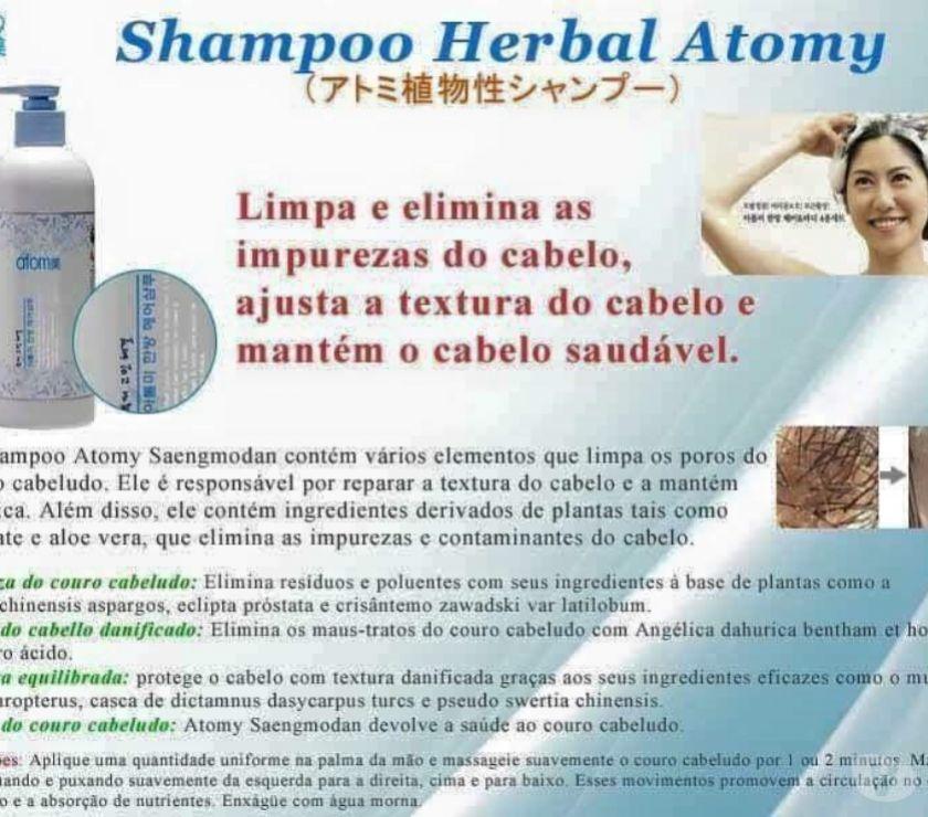 Cosméticos Rio de Janeiro RJ Barra da Tijuca - Fotos para Shampoo Herbal Atomy