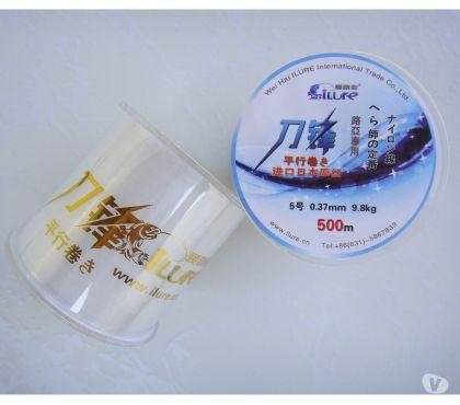 Fotos para Linha de Pesca Monofilamento 500mtrs (Linha de 0.37mm) ou 9.