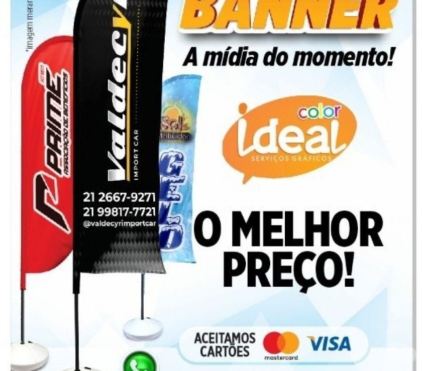 Outros serviços Nova Iguacu RJ - Fotos para Promoção de Wind Banner para sua Empresa