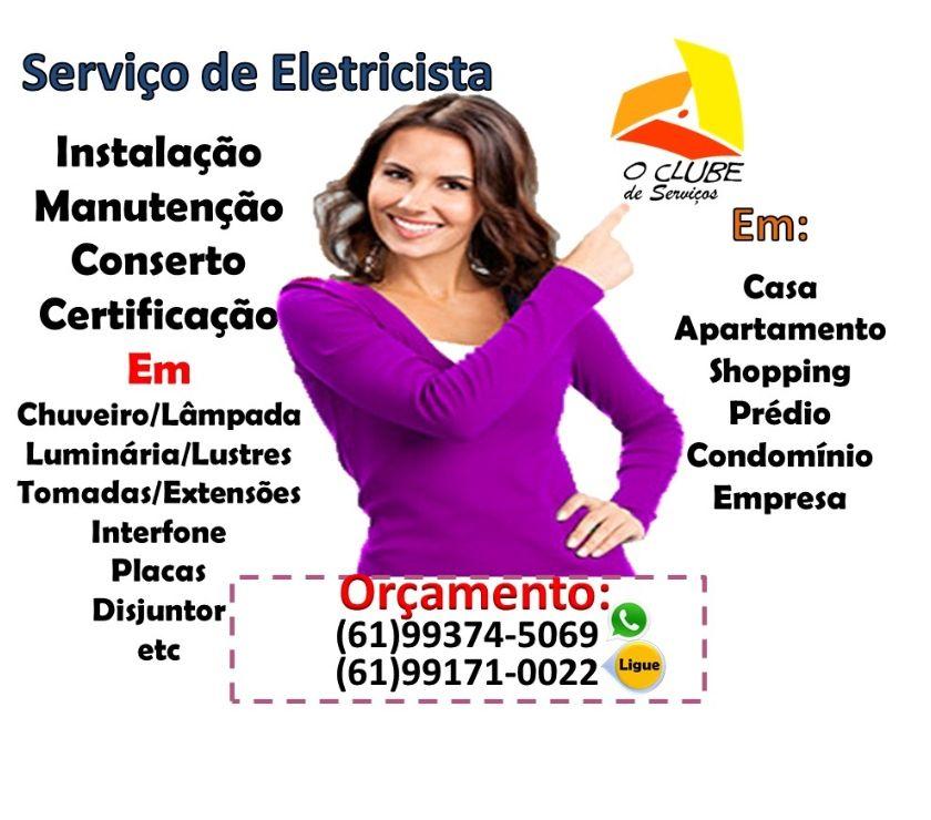 Reparo - Conserto - Reforma Riacho Fundo DF - Fotos para O Clube dos Melhores tem Eletricista serviços Elétricos