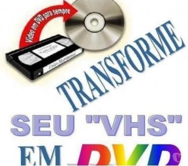 Fotos para LIMPEZA E CONVERSÃO DE FITAS VHS, VHS C E MINE VHS PARA DVD