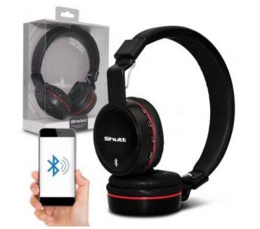 Fotos para Fone de Ouvido Bluetooth sem Fio Entrada P2 SD Rádio FM MP3