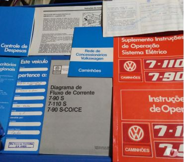 Fotos para Manual Proprietário VW Caminhões Vários Modelos