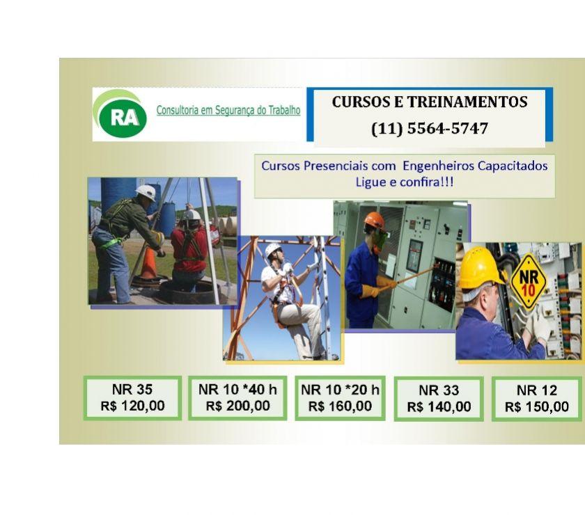 Fotos para Curso NR-18.28 e Nr 6 Epi - 08 h Bairro Santo Amaro Sul