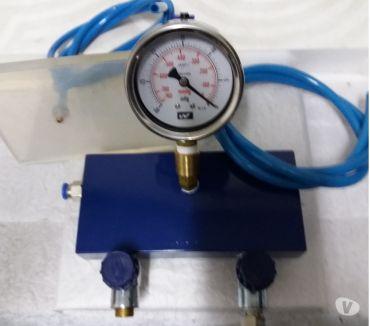 Fotos para Teste de Vácuo em Corpo de Válvulas de Cambio Automático