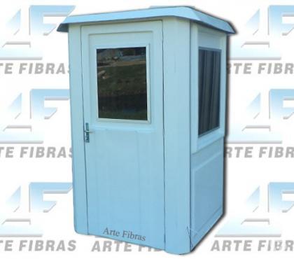 Fotos para Guaritas de segurança em fibra de vidro