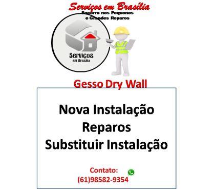 Fotos para Gesseiro para Serviços de Gesso e Dry Wall e todo o DF