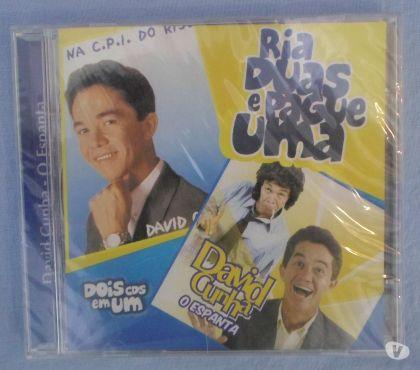 Fotos para CD Duplo David Cunha O Espanta + Na CPI do Riso - Raro, Novo