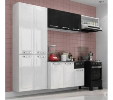 Fotos para Cozinha Itatiaia Amanda Compacta 4 Pecas Branca e Preta