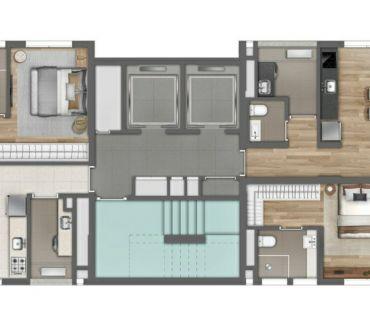 Fotos para Nord Jardins Preço – Planta Valor Nortis Apartamento