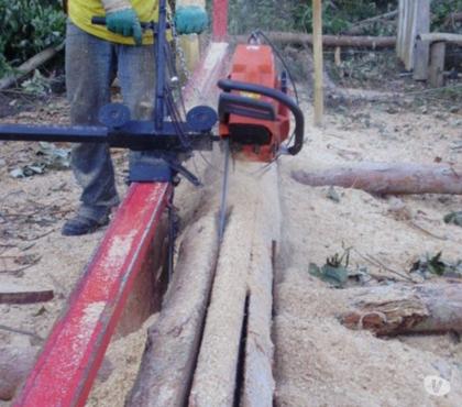Fotos para Serra tábua Serraria movel portatil para usar com motoserra