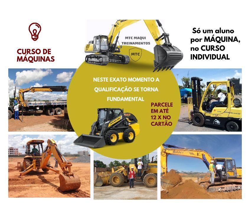 Outros cursos Brasilia DF Asa Sul - Fotos para Curso de empilharas, Retroescavadeira, Pá Carregadeira