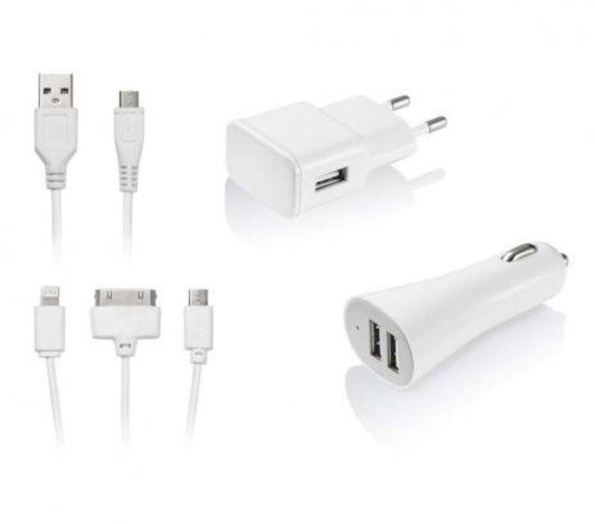 Celular Usado Natal RN Natal Centro - Fotos para Kit Carregador 3 em 1 Micro USB IOS 4 IOS 5 Multilaser