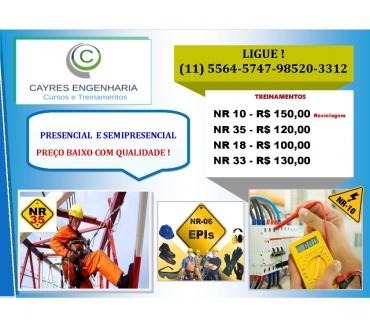 Fotos para Diademas Curso NR 10 e NR 35 Preço Promocional -Diadema NR10