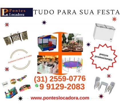 Fotos para Aluguel de Mesas - Cadeiras - Freezer - Brinquedos - Enfeite