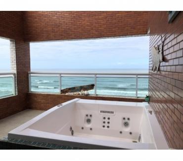 Fotos para Apto cobertura duplex 130m centro Mongaguá pé na areia