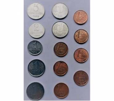 Fotos para Moeda de Colecionador - 1967 a 1994 (1 centavo)