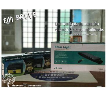Fotos para Luminária Solar- Economia da iluminação.