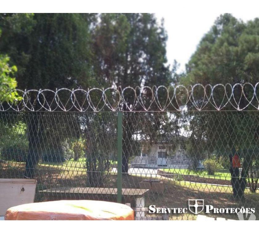 Reparo - Conserto - Reforma Mesquita RJ - Fotos para Cerca concertina flat com dupla barreira de proteção