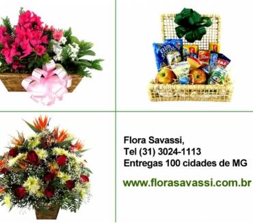 Fotos para Contagem Floricultura entrega flores, cesta de café, coroas