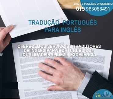 Fotos para Tradução Português ingles
