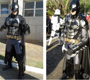 Fotos para Batman Cover personagens vivos cosplay para festa infantil