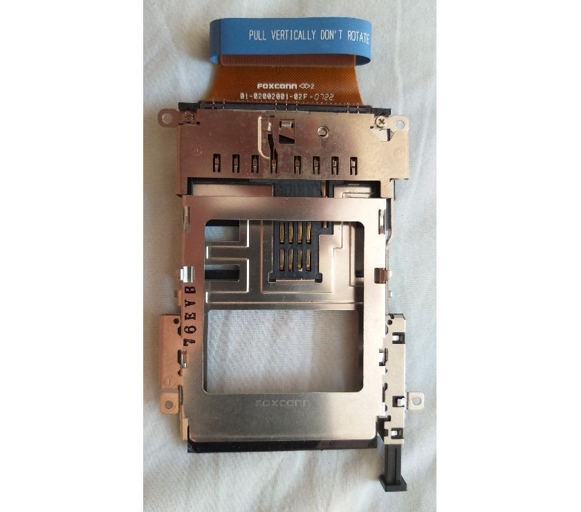 Fotos para Slot do cartão pcmcia para notebook dell latitude D-830, sem