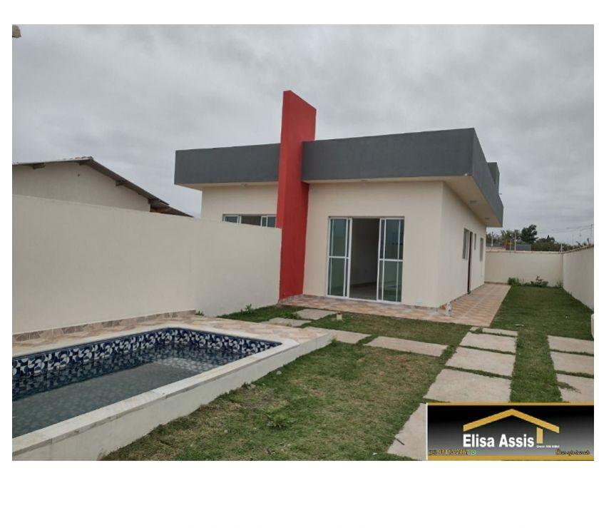 Apartamentos a venda Itanhaem SP - Fotos para Lançamento Casa Lado Praia com Piscina Minha Casa Minha Vida