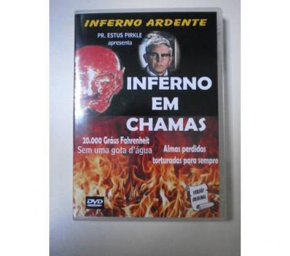 DVDs- Inferno em Chamas , Avivamento na R. Azuza, etc.. comprar usado  Rio de Janeiro RJ