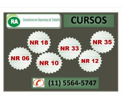 Fotos para Preço acessível - Curso NR 35: R$ 100,0; NR 10 e NR 33 Cotia