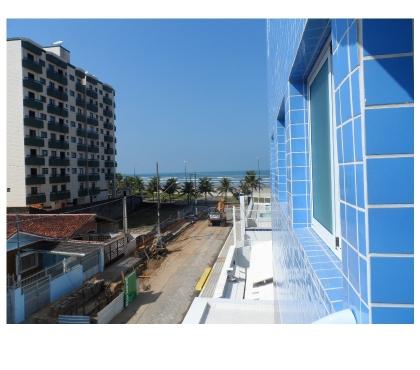 M023 - Residencial Safira - linda vista lateral para o mar comprar usado  Praia Grande SP