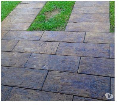 Fotos para Dormentes de Concreto que imita madeira (41) 3396-2586
