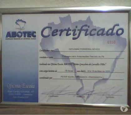 Fotos para Porta diploma moldura em Alumínio