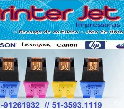Fotos para Recargas de Cartuchos Impressoras e manutenção de impressora