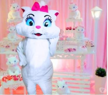 Fotos para Gata Marie Cover personagens vivos para festa infantil