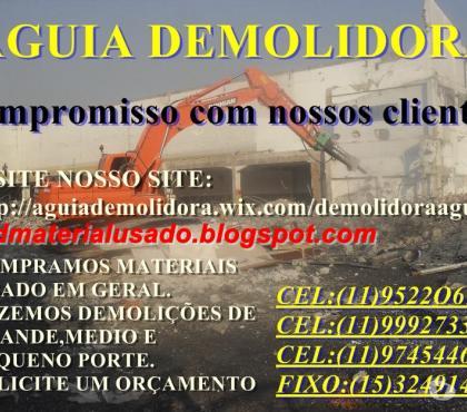 Fotos para Serviços de Demolição em Sorocaba